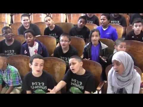 """PS22 Chorus sing """"ALL OF ME"""" by John Legend"""