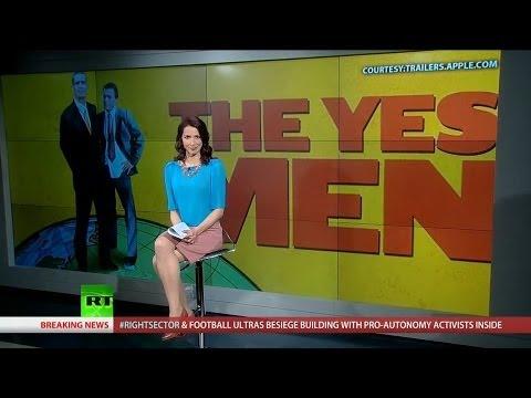 The Yes Men Prank Homeland Security into Adopting 100% Renewable Energy