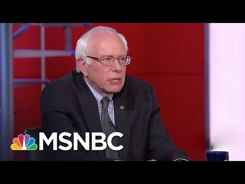 Bernie Sanders interviewed by Rachel Maddow More Debates MSNBC