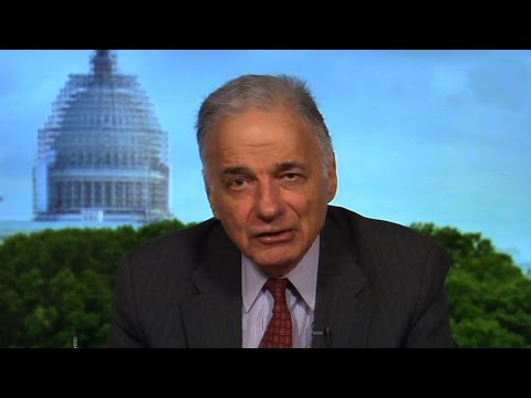 """Ralph Nader on Bernie Sanders, the TPP """"Corporate Coup d'Etat"""" & Writing to the White House"""