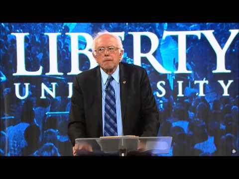 Bernie Sanders at Liberty University Historic Q and A