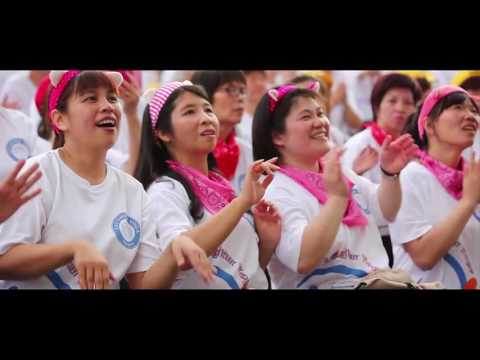 World Laughter Day Celebrations in Taichung, Taiwan