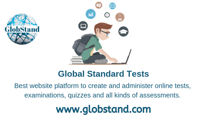 Create Online Tests, Examinations, Surveys, Assessment On Globstand.com