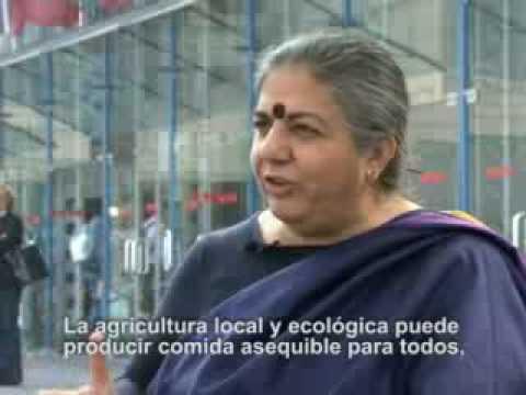 Vandana Shiva en terra Madre 2008
