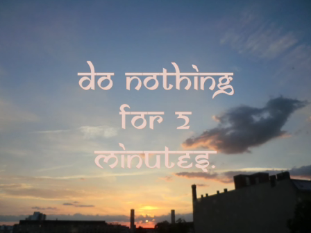 Do Nothing 42 Minutes