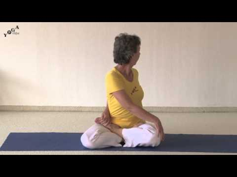Spinal Twist in Lotus