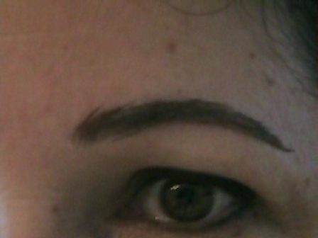 Cheryn's Natural Looking False Eyebrow Application Video