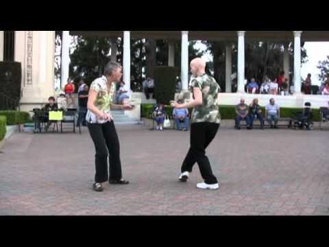 Twisting in Balboa Park