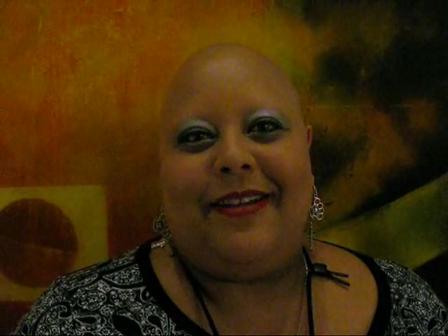 YoKasta greets Alopecia World at NAAF 2010