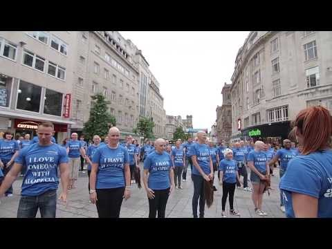 Liverpool Alopecia Flashmob