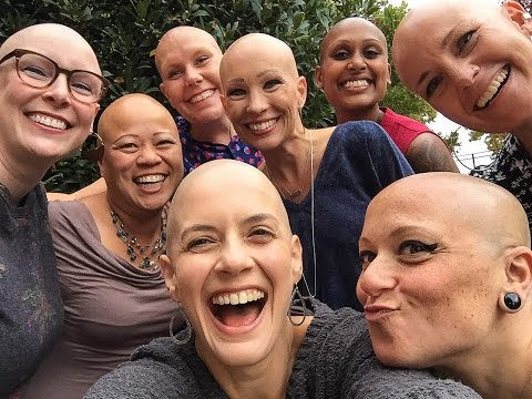 "Bay Area Bald Girls say, ""It's only hair"" 