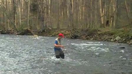 Joseph on Cranberry River April 09