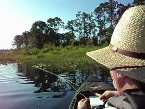 Flyfishing for Bream in the Ocala Forest, Florida Pt 3