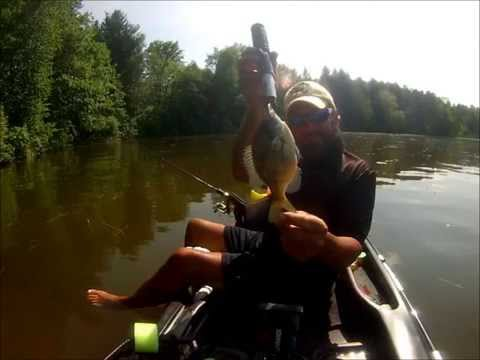 20150712 Pitching the banks for Panfish with slip floats
