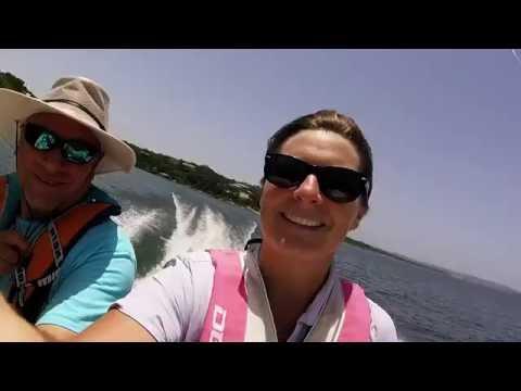Bluegills on Lake Travis