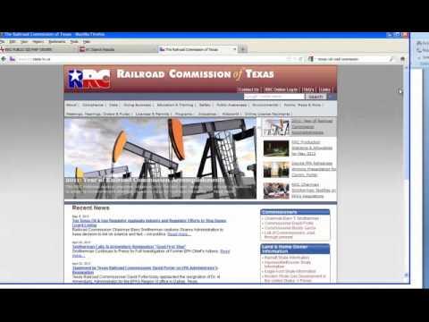 Texas Railroad GIS Tutorial