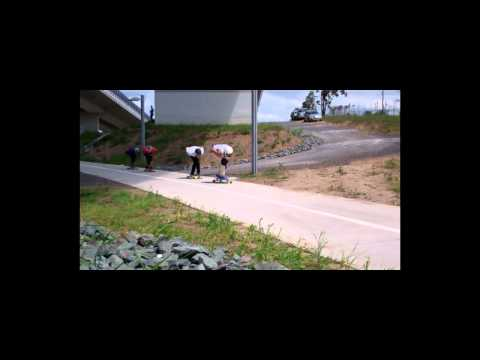 Longboarding: Connor's Birthday Race