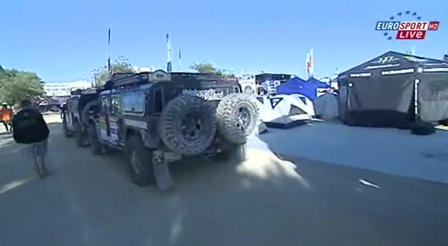 """Dakar 2009 """" The Hummer"""" from EuroSport"""