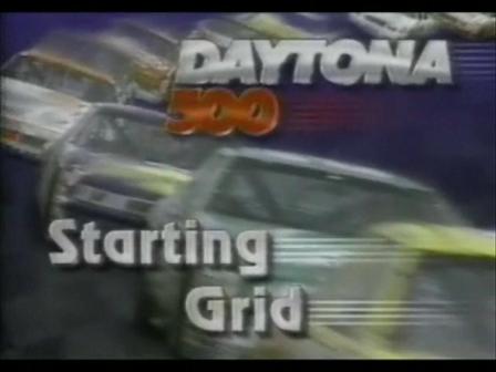 1991 Daytona 500 - Robbys first NASCAR race