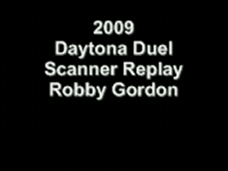 2009 Daytona Duel Scanner Replay