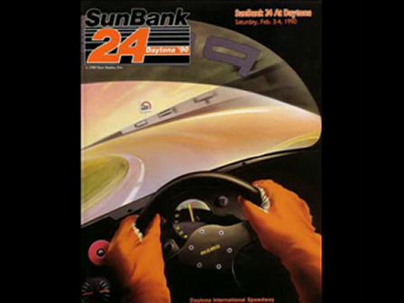 Robbys first asphalt race! 1990 Daytona 24h