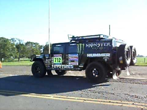 2010 Dakar Stage 1 Hummer Support