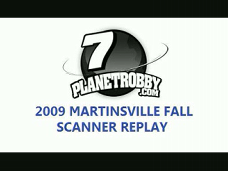 2009 Martinsville Fall Scanner Replay