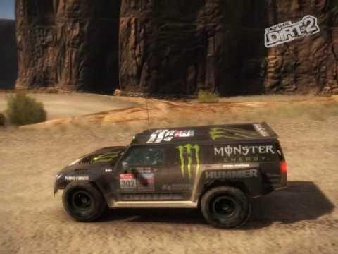 DiRT 2 (PC) - Robby Gordon, Custom Livery, Hummer H3 Dakar 2010