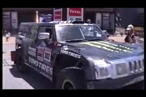 2010 Dakar Podium