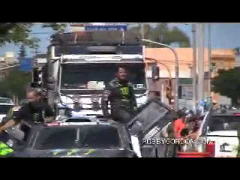 2010 Dakar Team Hummer Stage 13 Recap