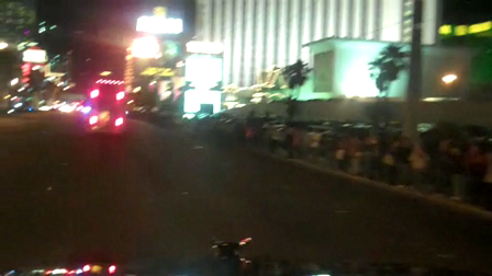 RaceTrucker in the Vegas hauler parade