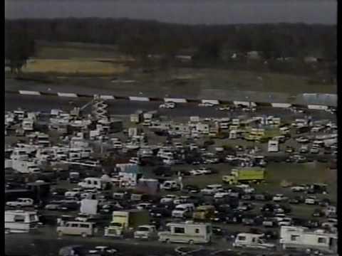 Robby's first oval race - Arca at Atlanta 1990