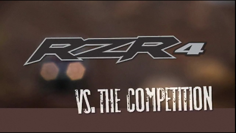 RZR 4 vs. The Competition