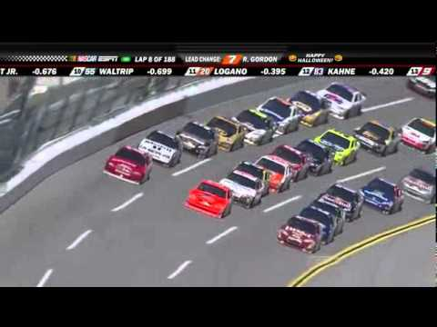 2010 Talladega Speed Energy Robby Gordon Leads