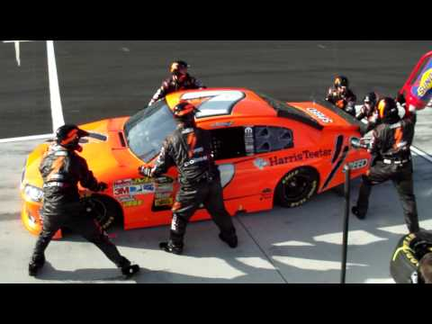 2011 Daytona Duel Pitstop Robby Gordon