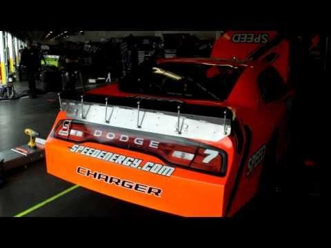 2011 Daytona Garage Robby Gordon
