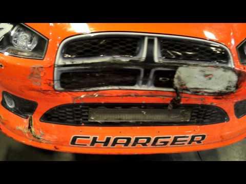 2011 Daytona 500 Robby Gordon Damage