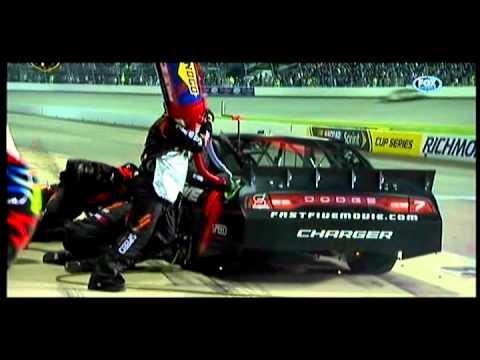 2011 Richmond-Robby Gordon Pit Fire