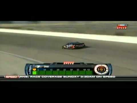 Robby Gordon TMS Qualifying Lap