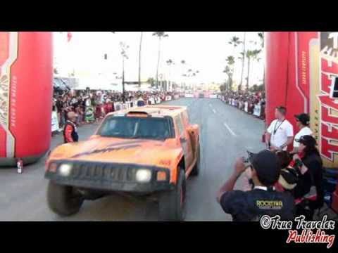 2011 Baja 500 Robby Gordon Finish