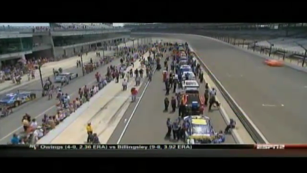 Brickyard 400 Qualifying