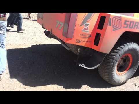 Robby Gordon Hummer Pit- Mile 210 El Borrego Baja 500 2011