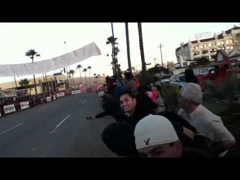 R. Gordon's donuts at Baja 500 finish line!!!