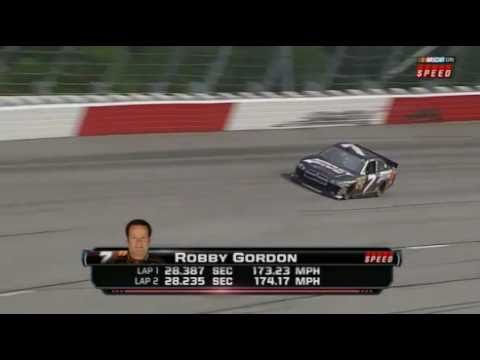 Robby Gordon Qualifying at Darlington