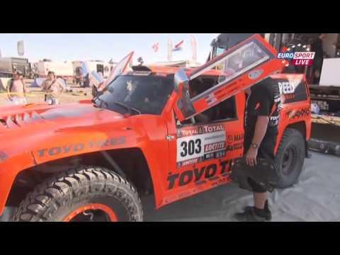 Dakar 2012 Stage 11 Eurosport