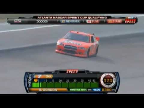 Robby Gordon Atlanta Qualifying