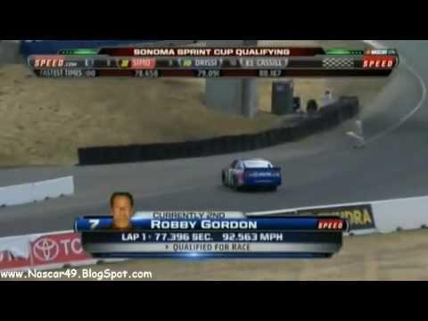 2012 Robby Gordon Sonoma Qualifying