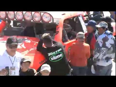Robby Gordon 2012 Baja 1000 Finish