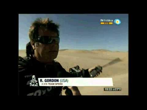 Robby Gordon Stage 4 Dakar 2013 Issue