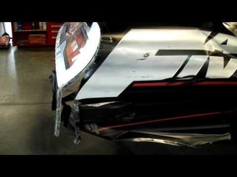2011 Robby Gordon Martinsville Post Race Walkaround